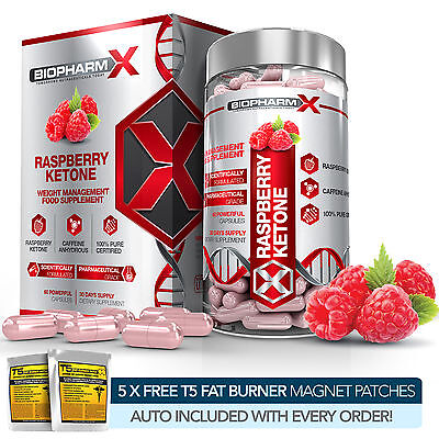 PURE RASPBERRY KETONE -STRONGEST LEGAL SLIMMING / DIET & WEIGHT LOSS PILLS