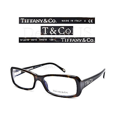 TIFFANY & CO. TF2015 8015 Eyeglasses 54/16/135 Rx Optical Made in Italy - New