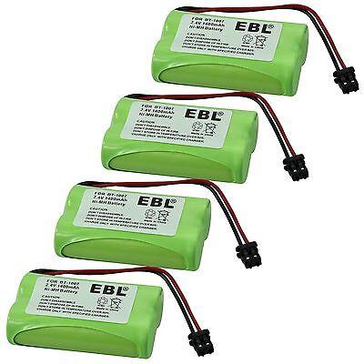 4x 1400mAh BT-1007 BT-904 BBTY0707001 Battery For Uniden Cordless Phone DECT1580