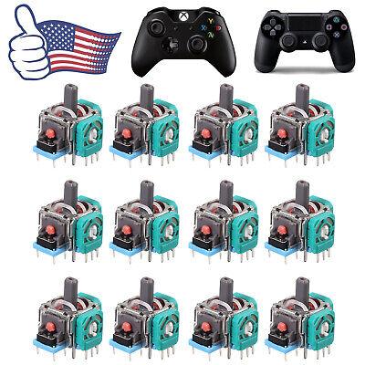 12Pcs Analog Joystick Repair Parts Dualshock Replacement For PS4 Xbox Controller Repair Analog Joystick
