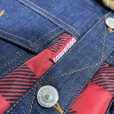 DSQUARED2 x POLDO Red/Black Check Collared Vest