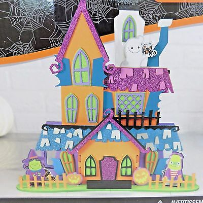 Creatology 3D HALLOWEEN HOUSE Crafts for Kids 104 Pieces Value Pack  - Crafts For Kids For Halloween