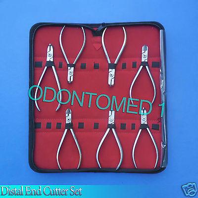 7 Pcs Tc Distal End Cutter Kit Orthodontic Dental Instruments