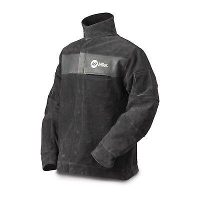 Miller Split Leather Welding Jacket Medium 273213