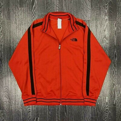 THE NORTH FACE Mens Track Jacket Coat | A5 SERIES TNF | Large L Orange Series Track Jacket