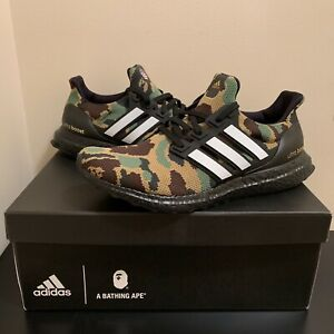 701db06fe8b01 adidas Ultra Boost 4.0 Bape Green Camo US 9
