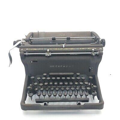 Antique Underwood  Desk Typewriter Vintage 1920s Made In USA RARE!