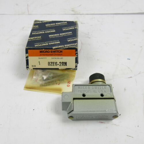 Honeywell Micro Switch BZE6-2RN Vintage NOS Industrial