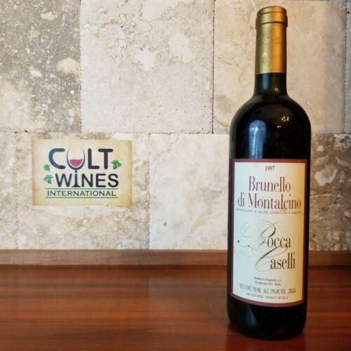 1997 Rocca Caselli Brunello di Montalcino wine, Italy