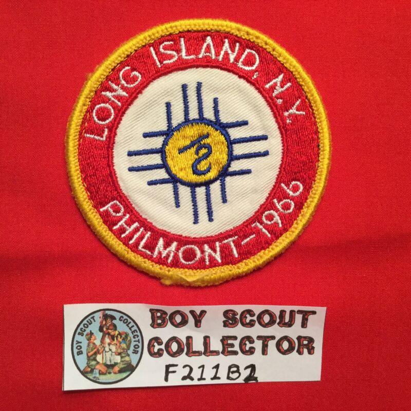 Boy Scout 1966 Long Island N.Y. Philmont Contingent Patch