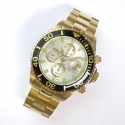 NEW $5295 GENTS INVICTA 47MM RESERVE PRO DIVER CHRONO SWISS AUTOMATIC WATCH 6894