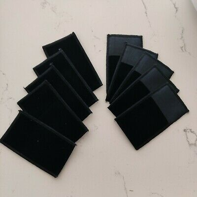 10pcs-black- 2x2.5 Jewelry Pouches- Black-velvet Gift Bags