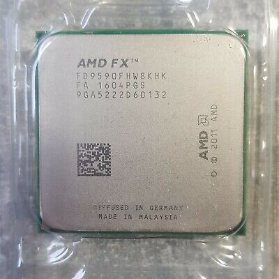 AMD FX-9590 Black Edition - 4,7 GHz 8 (FD9590FHW8KHK) Prozessor