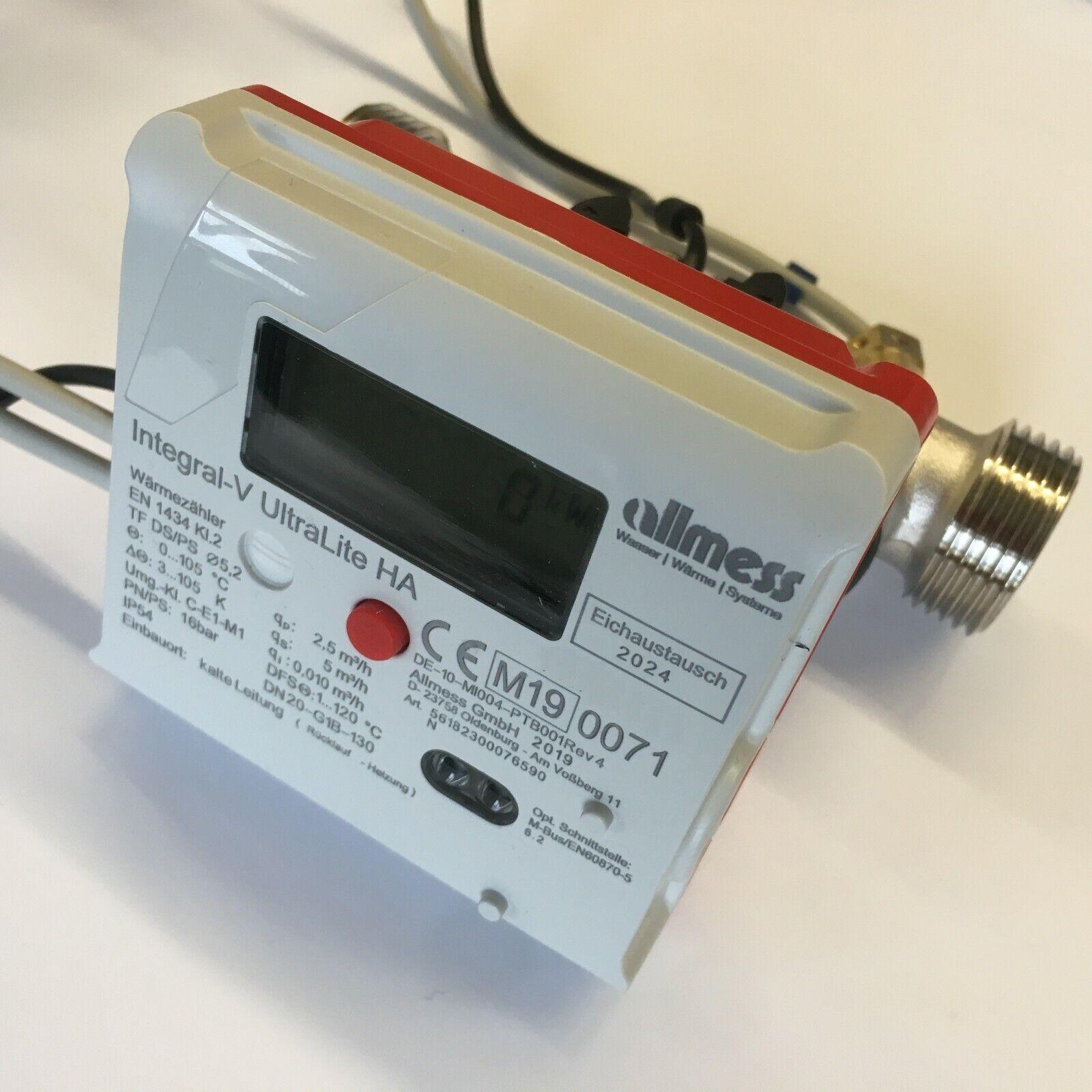 Wärmezähler Allmess Integral MaXX MK Wärmemengenzähler versch Modelle Qn 1,0 2,5