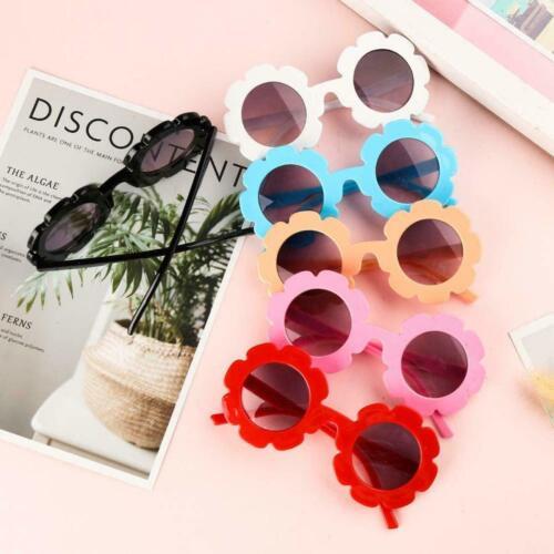 Gafas De Sol Para Niñas Bebe Flor Lentes Color Verano - Little Girl Sunglasses