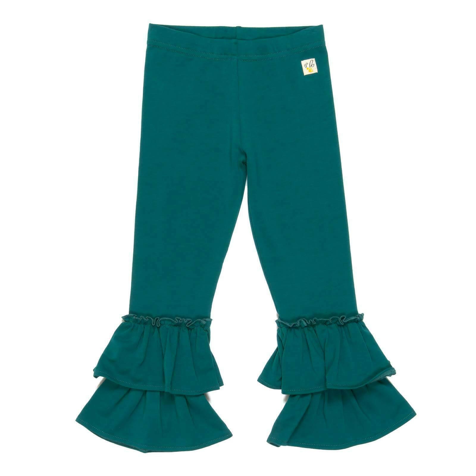 NEW wildflowers clothing girl leggings size 2/4/6/8/10/12/14