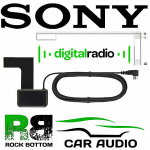 SONY-Car-Stereo-Radio-Windscreen-Interior-Glass-Mount-DAB-Digital-Aerial-Antenna