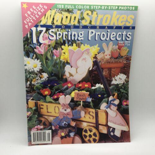 DIY Wood Strokes Spring Projects Magazine May 1999. #34 PB Cow Rabbit Pattern J