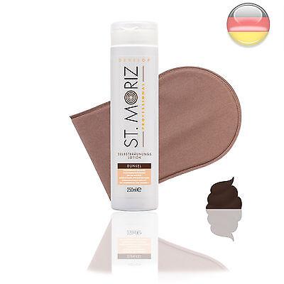 St. Moriz Lotion Dark 250 ml & Horn-Applikator