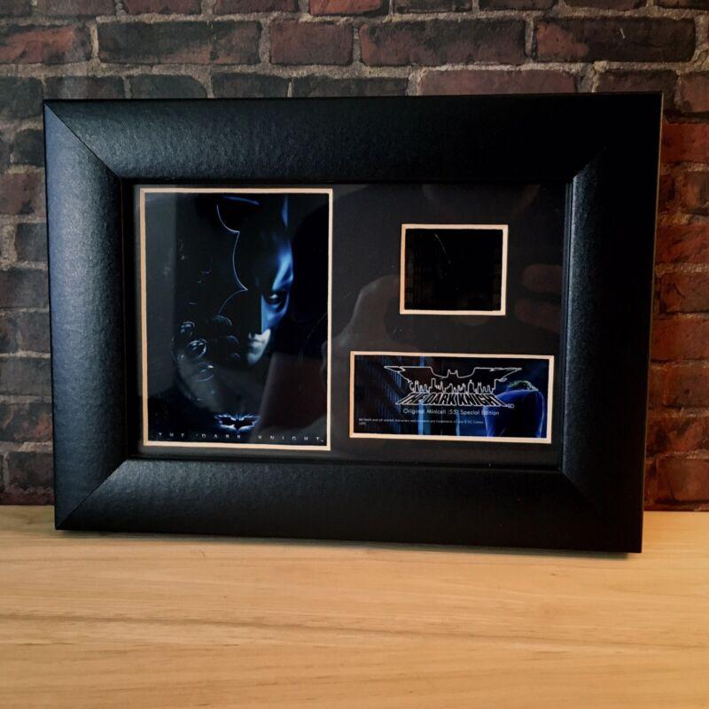 The Dark Knight Official Certified Framed Film Cell BATMAN JOKER Heath Ledger