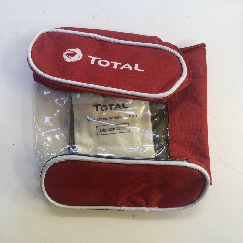 TOTAL+1ltr+Oil+Top+Up+Bag+storage+holder+%2B+cardboard+funnel+FASTP%26P++velcro