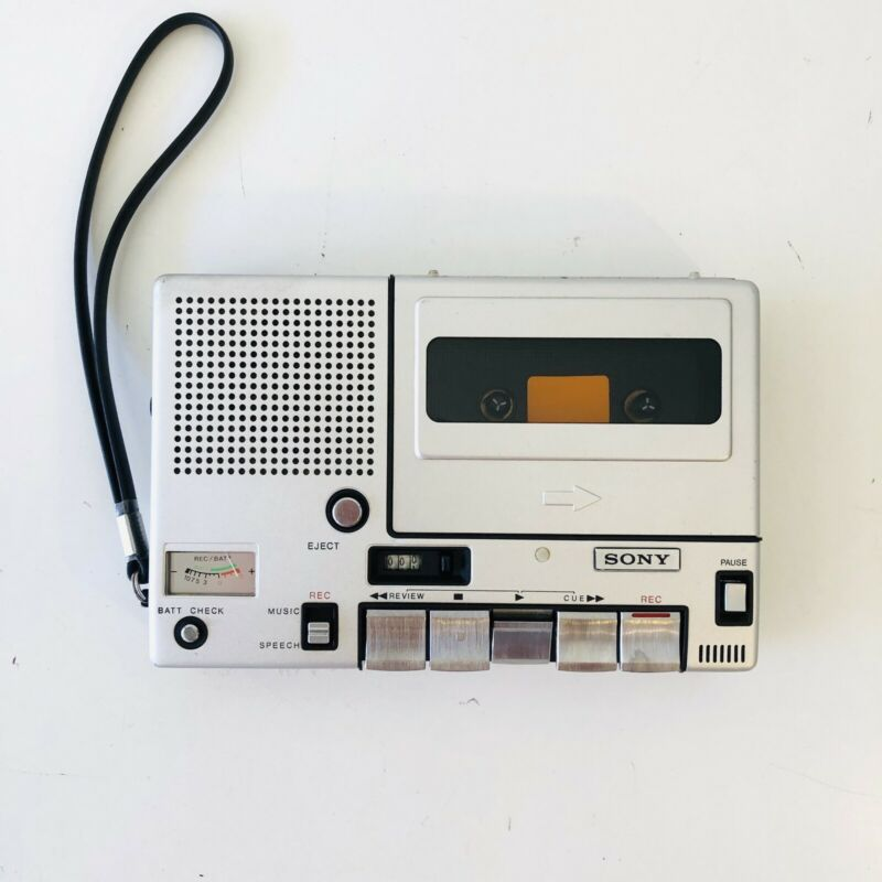 🔥VINTAGE📼 SONY PRO. CASSETTE TAPE RECORDER PLAYER TC-150 ~ TESTED WORKS READ