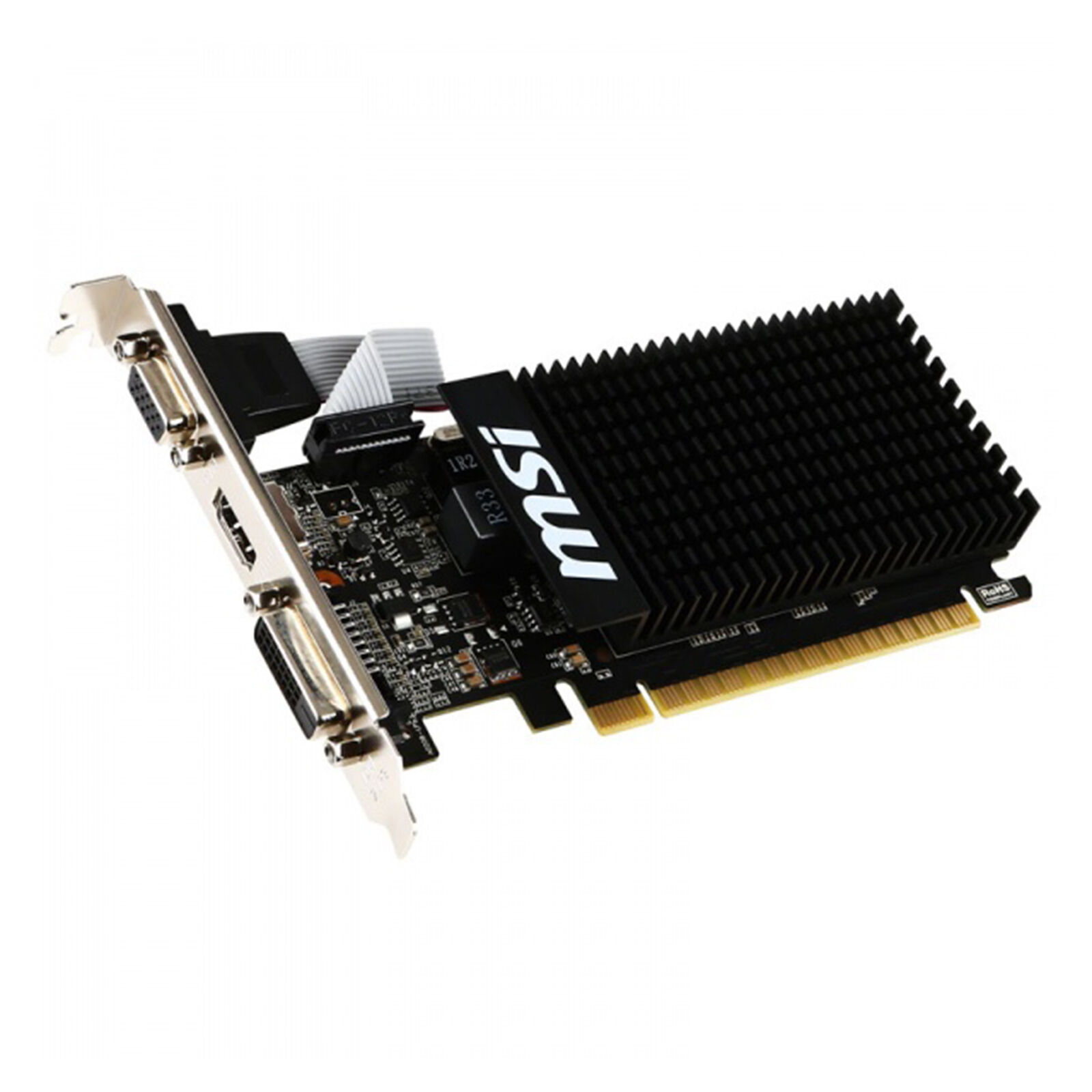 SCHEDA VIDEO GRAFICA MSI NVIDIA GEFORCE GT710 2GB GDDR3 PCI EXPRESS 2.0 LOW PROF