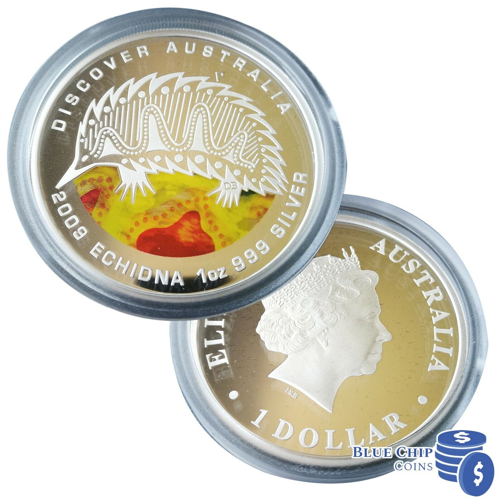 The Dreaming Series 1oz Silver Proof $1Coin Dingo 2011 Discover Australia