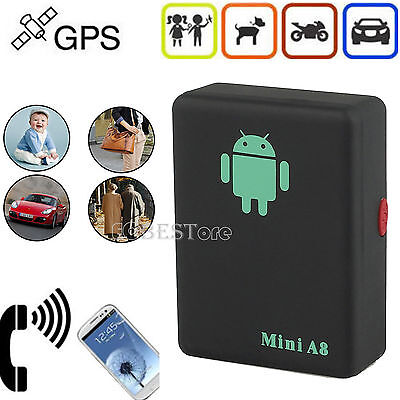 Car GPS GSM Tracker Locator Mini Realtime Vehicle/PETS Personal Tracking Device
