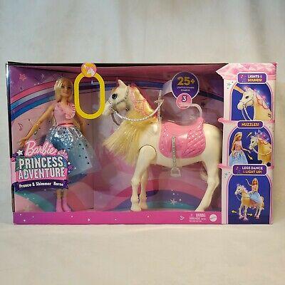Barbie Modern Princess Prance & Shimmer Horse- 25+ Lights and Sounds GML79