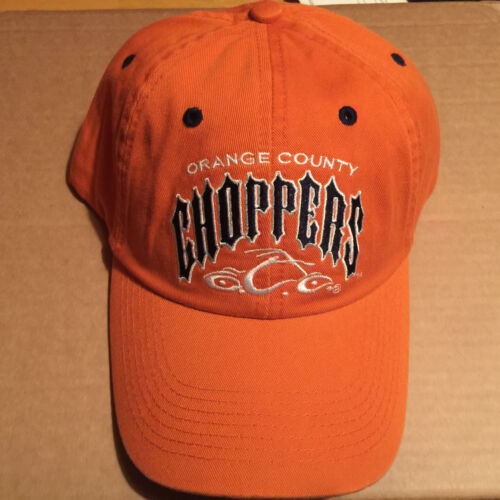 ORANGE COUNTY CHOPPERS WHITE & BLACK LOGO UNISEX BASEBALL CAP SONS OF ANARCHY