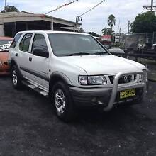 2002 Holden Frontera Wagon 4X4 5 Speed Manual,Hi -Lo range MX V6 Long Jetty Wyong Area Preview