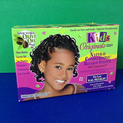 Kid's Originals By Africa's Best Nature Conditioning Relaxer System Kit