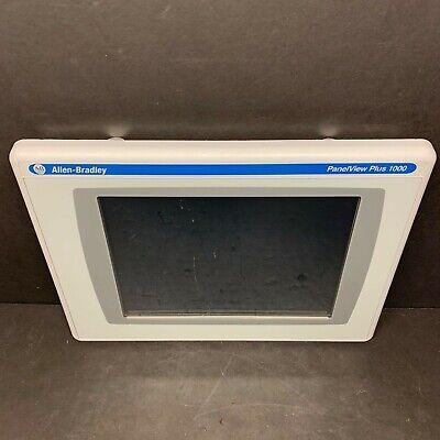 Allen Bradley 2711p-rdt10c B Panelview Plus 1000 Display Color Touchscreen 2010