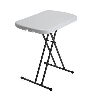 Lifetime 80251 Adjustable Folding Laptop Table TV Tray, 26 I