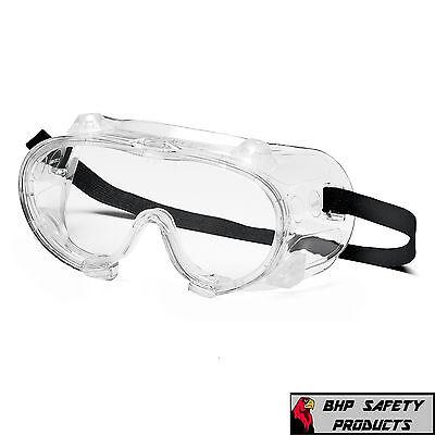 Pyramex G204t Lab Safety Goggles Vented Chemicalsplashimpact Resistant 1 Pr