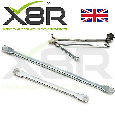 Car Parts - For UK Micra K12 2003-10 Wiper Motor Linkage Repair Arms Rod Set Repair