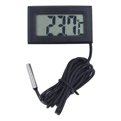 Thermometer digital LCD -40+110°C Temperatur Anzeige Messer Termometer Aquarium