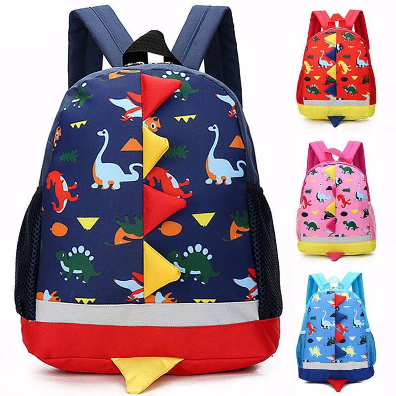Children Kids Dinosaur Backpack School Book Bag Rucksack Kin