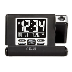 616A-1908 La Crosse Technology Travel Projection Alarm Clock USB - Refurbished