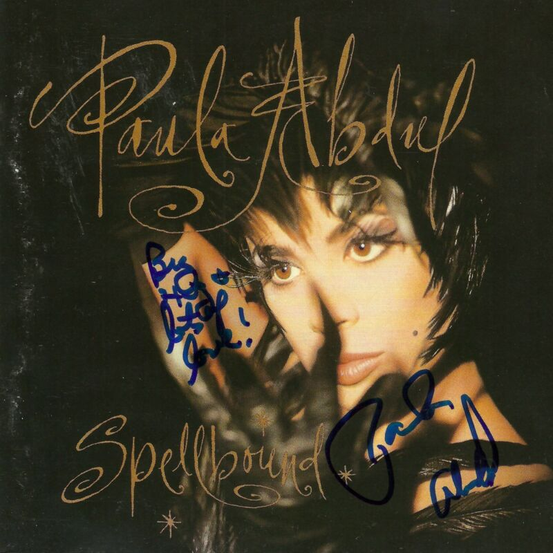 Paula Abdul signed Spellbound cd