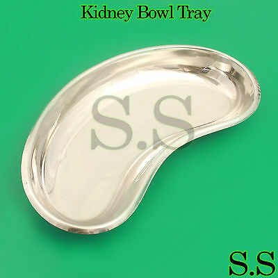 Professional 8 Surgical Kidney Tray Dish Basin Stainless Steel Instrument