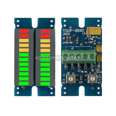 Led Music Audio Spectrum Indicator Stereo Meter Volume Level Display Module Dt55