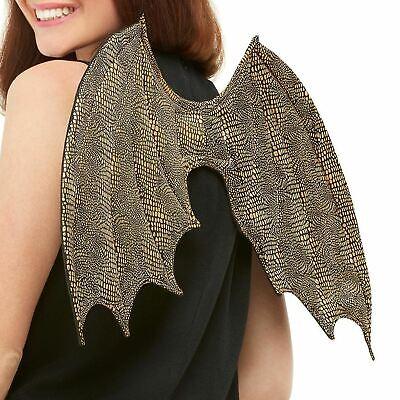 �nzend Golden Reflektierend Flügel 50 cm Kostüm Zubehör Prop (Drache Flügel Kostüm Zubehör)
