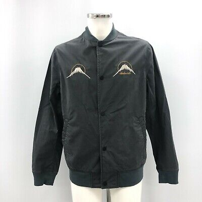 Maharishi Lightweight Cotton Jacket Size UK L Mens Blue Smart Casual 243077