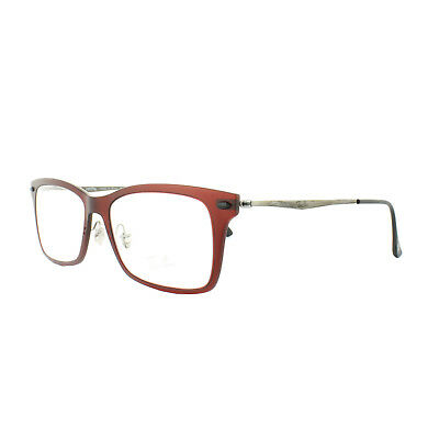 Ray-Ban Glasses Frames RX 7039 5456 Dark Matt Red Mens Womens 53mm