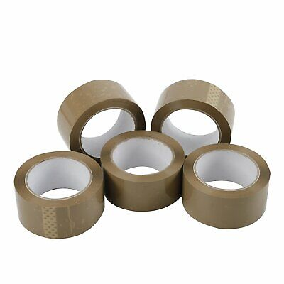 36 Rolls - 2 Inch X 110 Yards 330 Ft Brown Carton Sealing Packing Package Tape