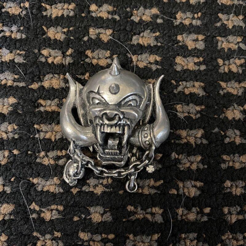 Motorhead Silver Necklace Pendant Warpig Beast Lemmy England Metal