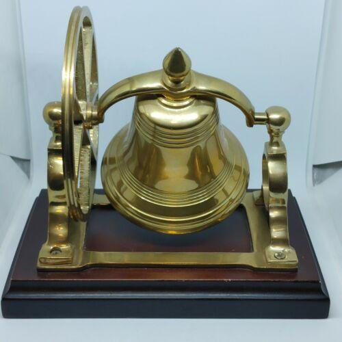 Vintage Heavy Brass Ship