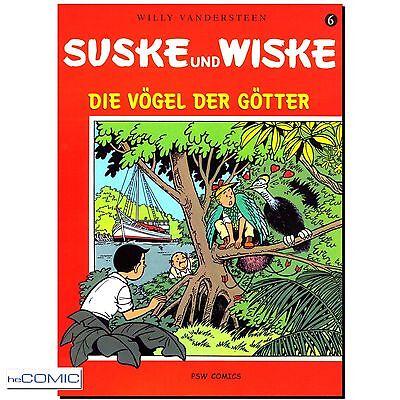 Suske und Wiske 6 Vögel der Götter VANDERSTEEN  Paul Geerts FRANKO BELGISCH NEU